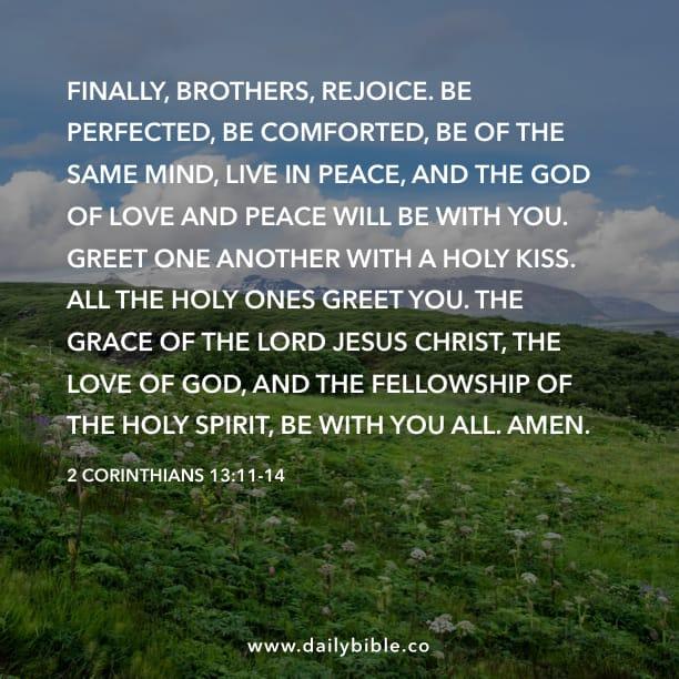 2 corinthians 1311 14 daily bible inspirations m4hsunfo