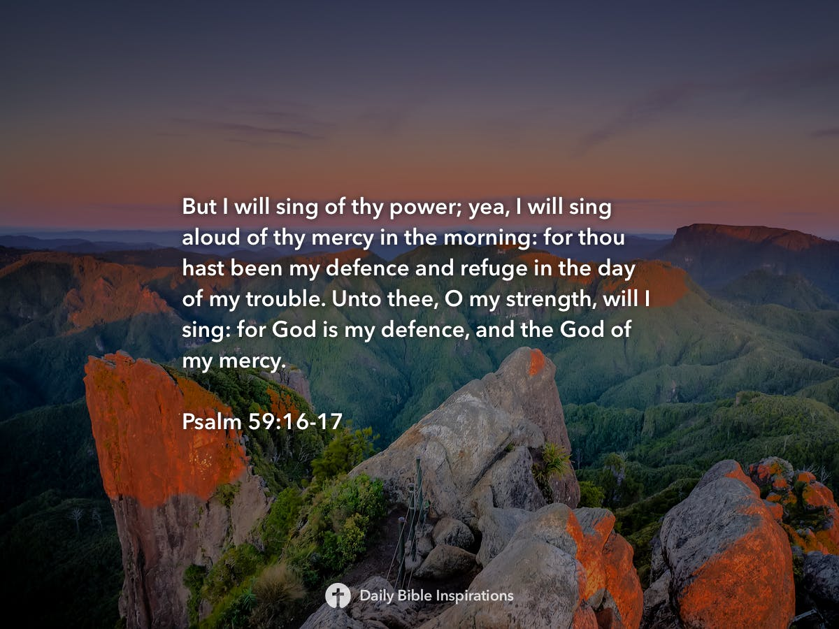 Image result for Psalm 59:16-17