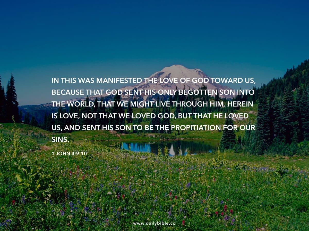 1 John 4:9-10 - Daily Bible Inspirations